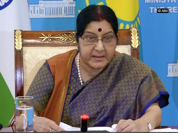 External Affairs Minister (EAM) Sushma Swaraj
