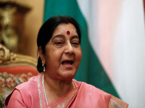 Union Minister of External Affairs Sushma Swaraj (File Photo)