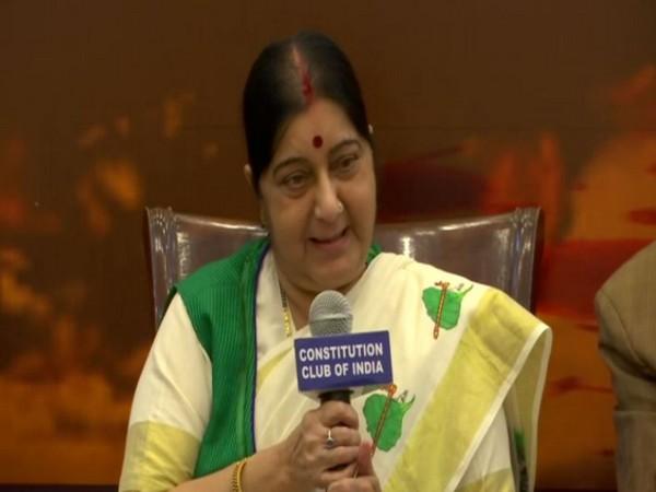 Former External Affairs Minister Sushma Swaraj (File photo)
