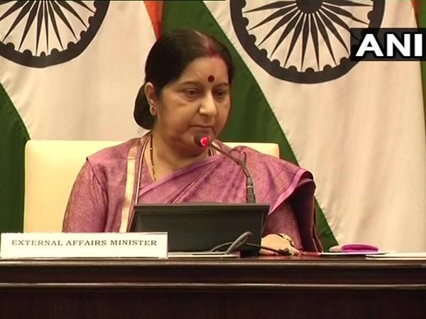 External Affair Minister Sushma Swaraj