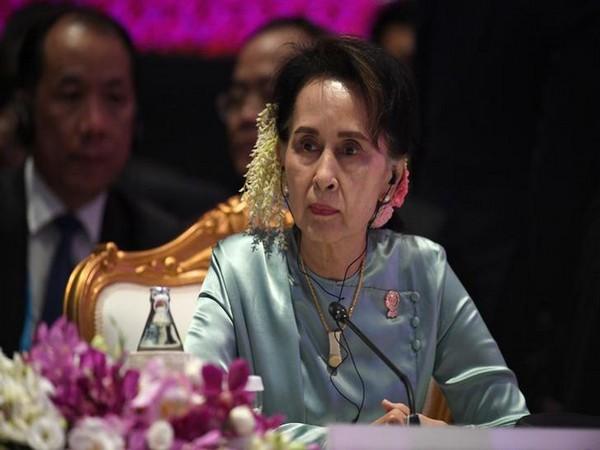 Myanmar's deposed leader Aung San Suu Kyi