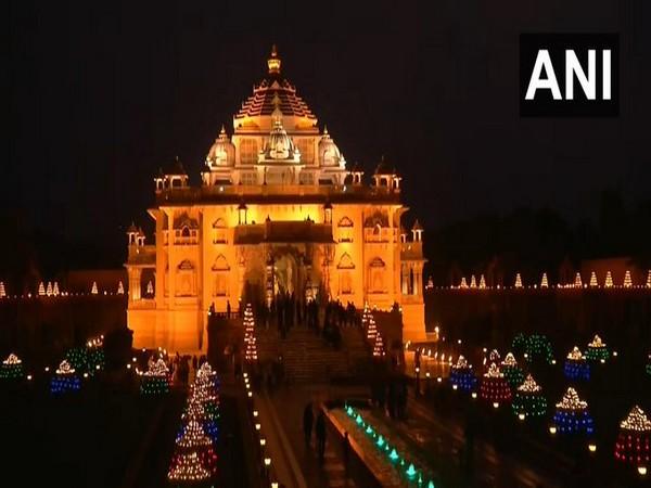 Swaminarayan Akshardham Temple (Photo/ANI)