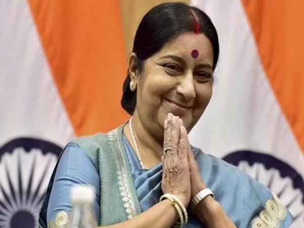 Former External Affairs Minister & senior BJP leader, Sushma Swaraj