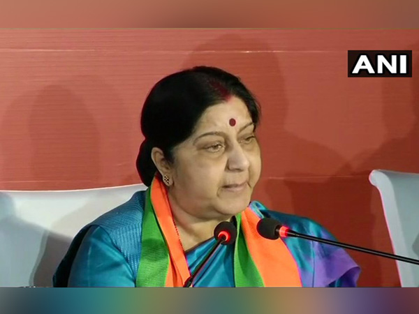 File picture of External Affairs Minister Sushma Swaraj
