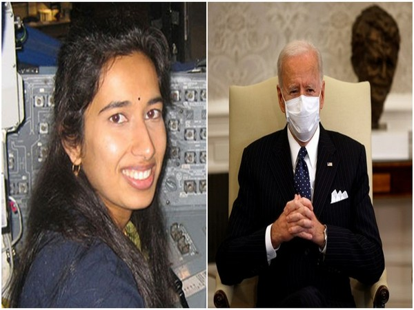 Dr Swati Mohan, NASA aerospace engineer and US President Joe Biden