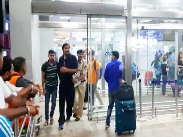 Police brings swimming coach Surajit Ganguly to Goa. Photo/ANI