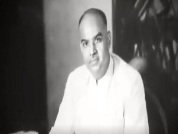 Dr Syama Prasad Mookerjee, the founder of Bharatiya Jana Sangh