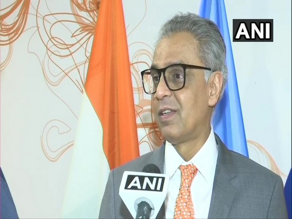 Syed Akbaruddin speaking at United Nations Conference on South-South Cooperation in Buenos Aires on Friday. (Courtesy Syed Akbaruddin twitter)