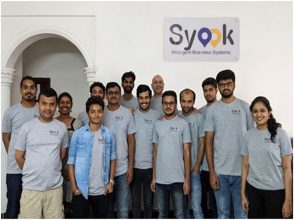 The Syook Team at their headquarters in Bengaluru, India
