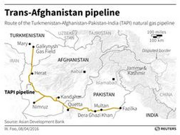 work on afghan section of tapi gas pipeline project begins - Tapi