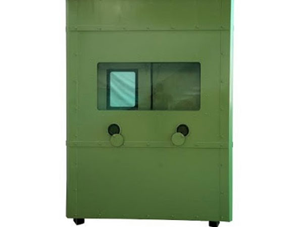 TARGE - Bullet Resistance Security Cabins.