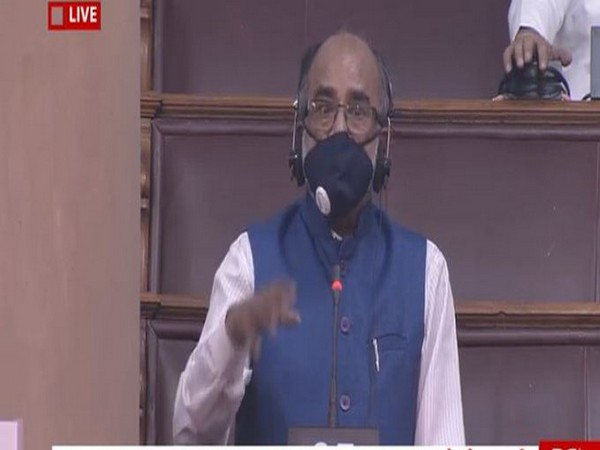Bharatiya Janata Party (BJP) leader KJ Alphons at Rajya Sabha on Saturday. [Photo/ANI]