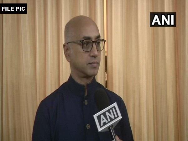 TDP MP K Srinivas was detained by Andhra Pradesh police on Wednesday. Photo/ANI