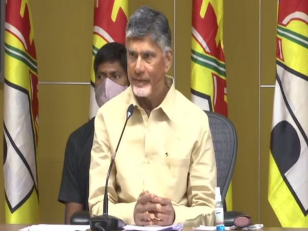 Telugu Desam Party President, N Chandrababu Naidu (Photo/ANI)