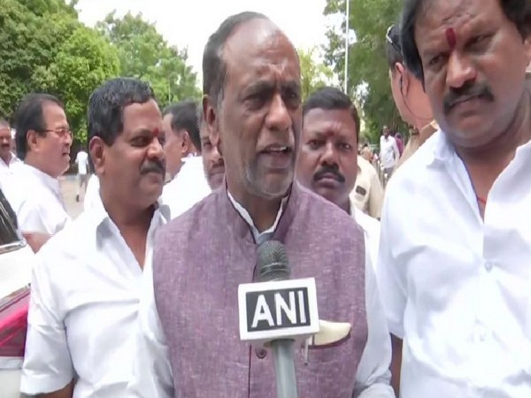 Telangana BJP State president Dr K Laxman speaking to ANI on Saturday. Photo/ANI