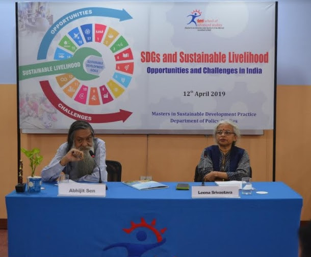 TERI School of Advanced Studies emphasizing on the need for India to actively implement SDGs for generating Sustainable Livelihood