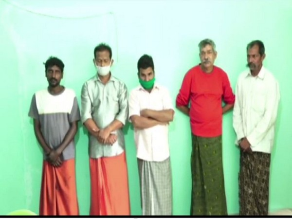 The five accused persons (Photo/ANI)