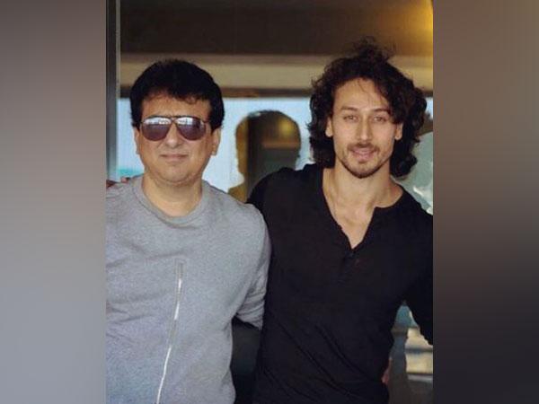 Sajid Nadiadwala and Tiger Shroff, Image courtesy: Instagram