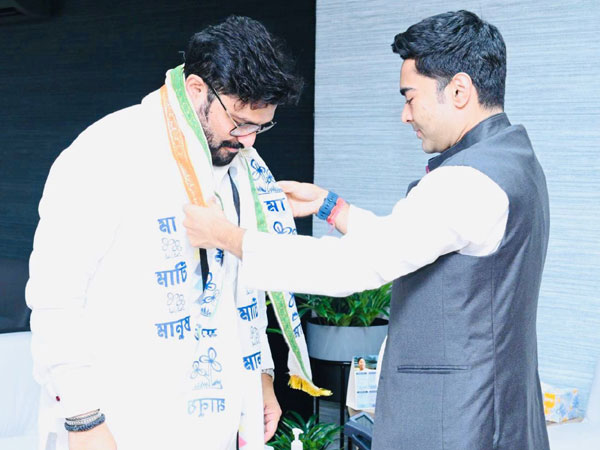 Ex-BJP MP Babul Supriyo joining TMC (File Photo/ANI)