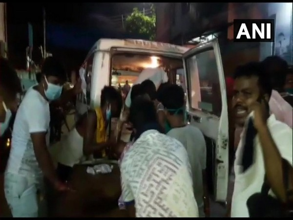 Champa Das, Trinamool Congress (TMC) councillor was shot by miscreants in north 24 Parganas district, West Bengal here on Saturday. (Photo/ANI)