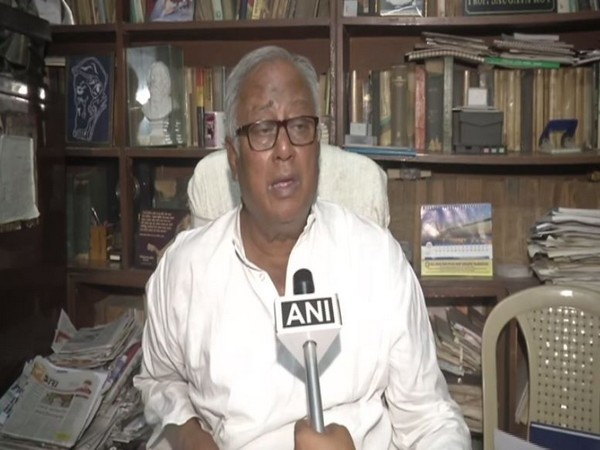 Trinamool Congress MP Sougata Roy speaking to ANI in Kolkata on Sunday.