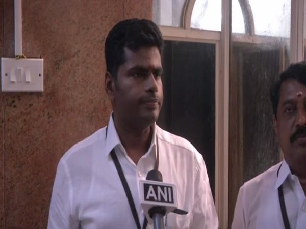 Tamil Nadu BJP president Annamalai. (Photo/ANI)