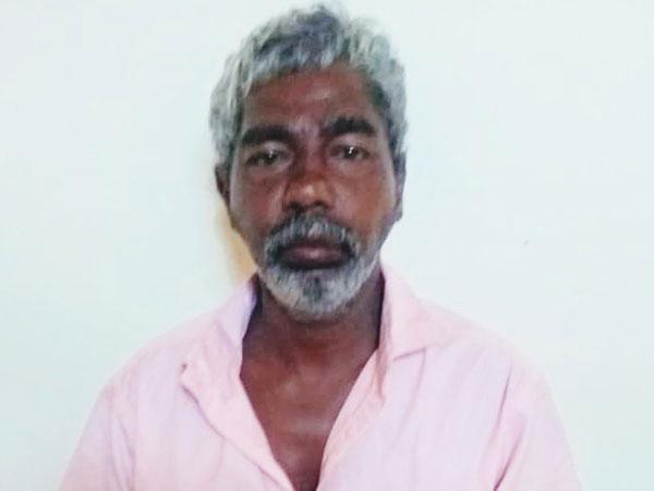 Sri Lankan national arrested by Tamil Nadu police on Wednesday. Photo/ANI