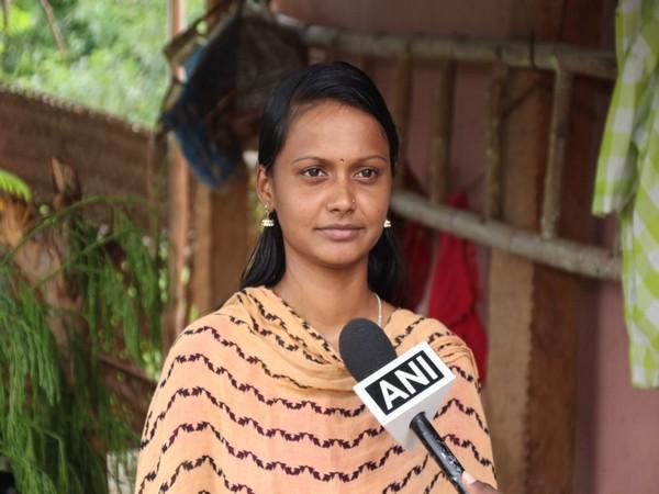 A 21-year-old Madurai-based law aspirant, Premalatha Tamilselvan, speaking to ANI in Madurai on Sunday. (Photo/ANI)