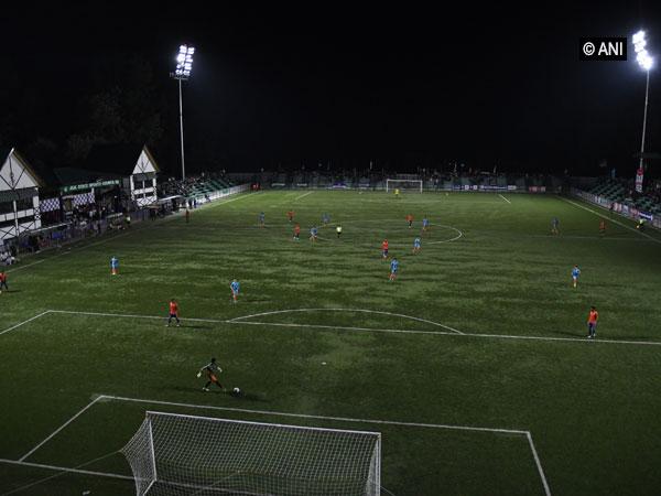 A view of TRC football stadium, Srinagar. (Photo/ANI)