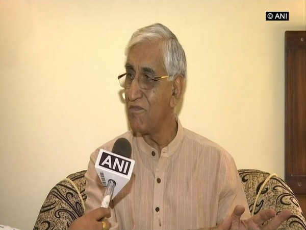 Chhattisgarh Health Minister TS Singh Deo speaking to ANI on Thursday in Raipur.