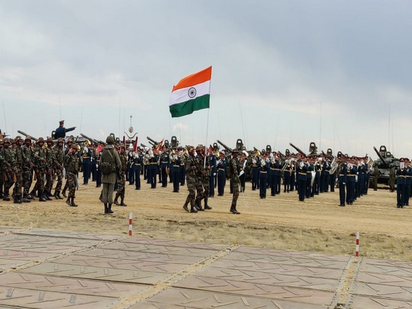 India at Exercise TSENTR 2019 in Russia. Photo/ANI