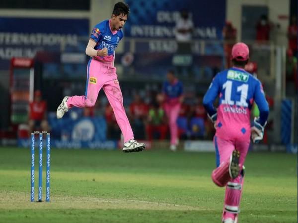 Rajasthan Royals pacer Kartik Tyagi (Photo/ iplt20.com)