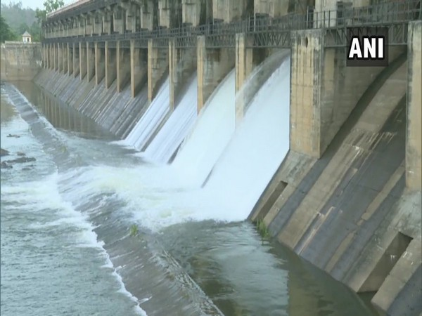 Visuals from Tunga dam on Monday. Photo/ANI