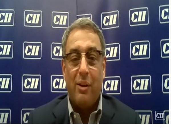 CII President TV Narendran. (Photo/ANI)