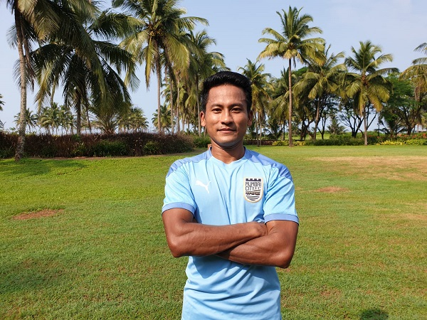Defender Tondonba Singh ((Photo/ Mumbai City FC))