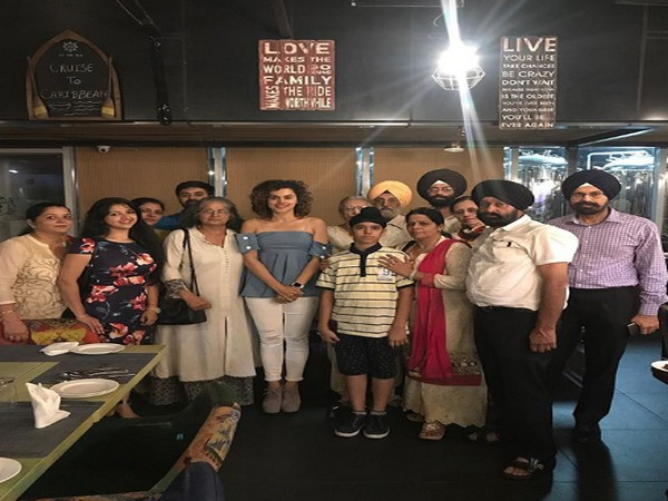 Taapsee Pannu with Bhumi Pednekar (Image Courtesy: Instagram)
