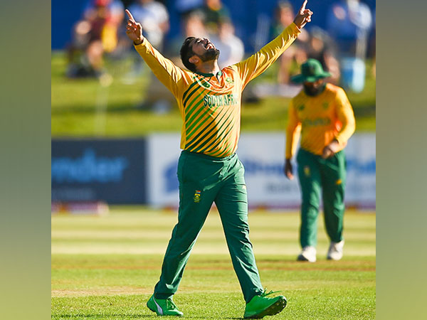 Proteas spinner Tabraiz Shamsi (Photo/ ICC Twitter)