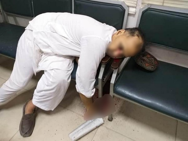 Tahir Ahmad, man who was shot dead in a courtroom in Peshawar. Photo/ANI