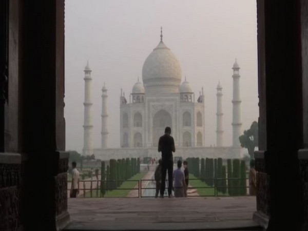 Visual from Taj Mahal (Photo/ANI)