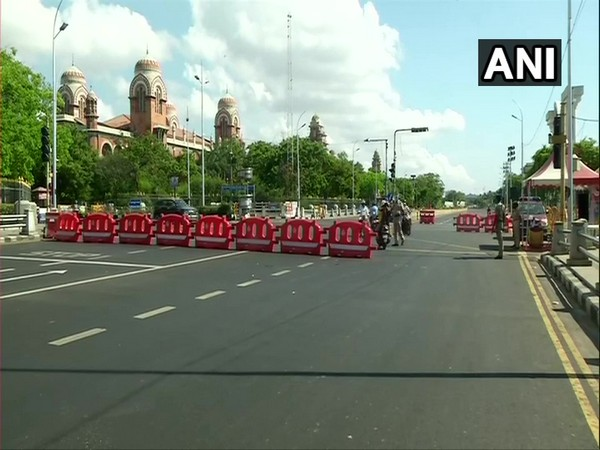 Visuals from Chennai as state enters two week lockdown. (Photo/ANI)
