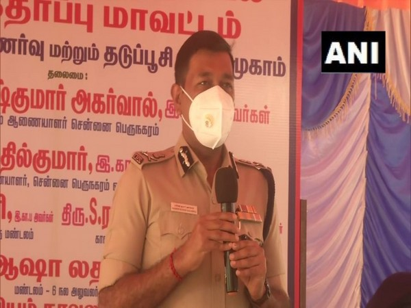 Chennai Police Commissioner, Mahesh Kumar Aggarwal. (Photo/ANI)