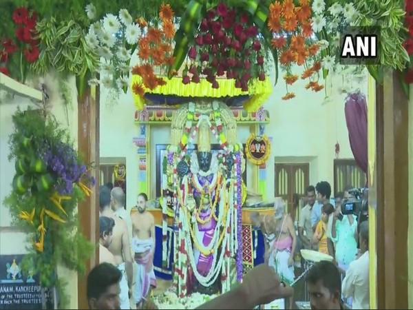 TN: Devotees throng Sri Devarajaswami temple to offer prayers