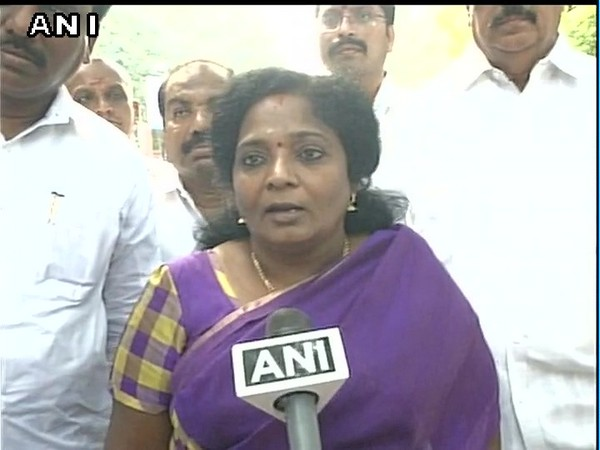 Dr. Tamilisai Soundararajan [File Photo/ANI]