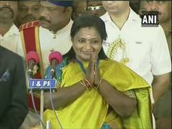 Telangana governor Tamilisai Soundararajan. File photo