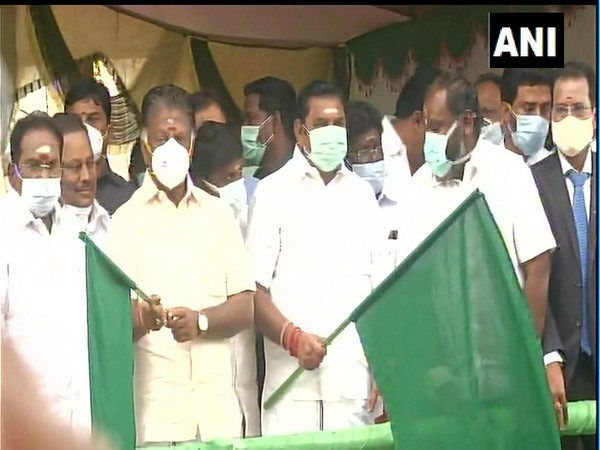 Tamil Nadu Chief Minister Edappadi K Palaniswami and Deputy CM O Paneerselvam inaugurated the Jallikattu competition in Alanganallur area of Madurai.