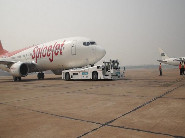 SpiceJet will start using taxibots from Tuesday.