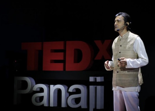 Darryl D'Souza TEDx TEDx Panaji How I cured myself of chronic illness and reversed ageing 2