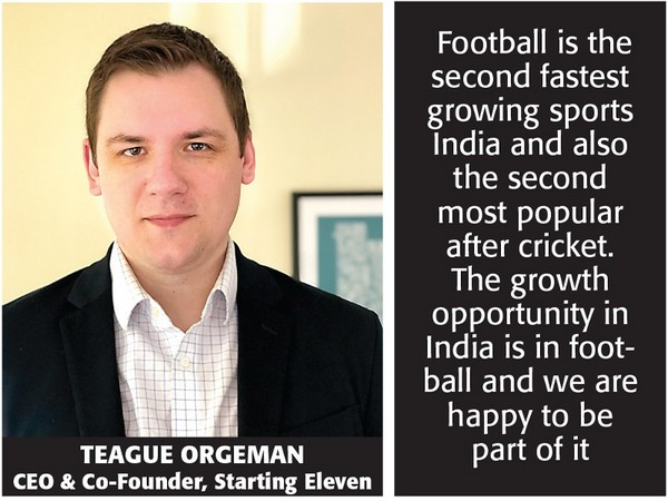 Teague Orgeman, CEO & Co-Founder of Starting Eleven