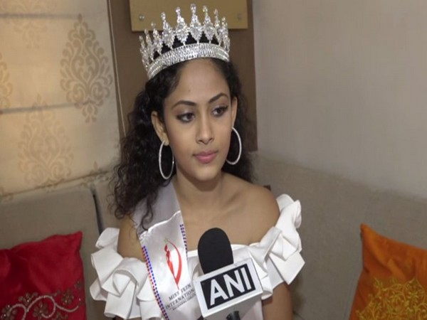 Vadodara's Aayushi Dholakia, newly crowned Miss Teen International talking to ANI.
