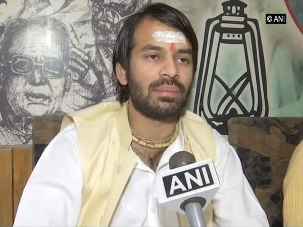 File pic of Rashtriya Janata Dal (RJD) chief Lalu Prasad's son Tej Pratap Yadav.